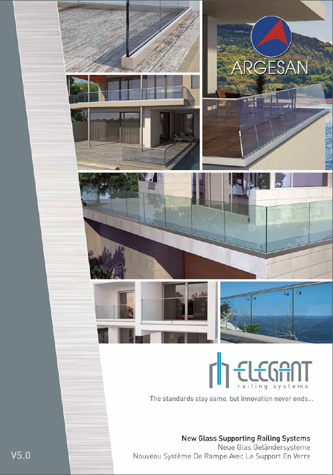 Argesan Glass Supporting Railing System Catalog
