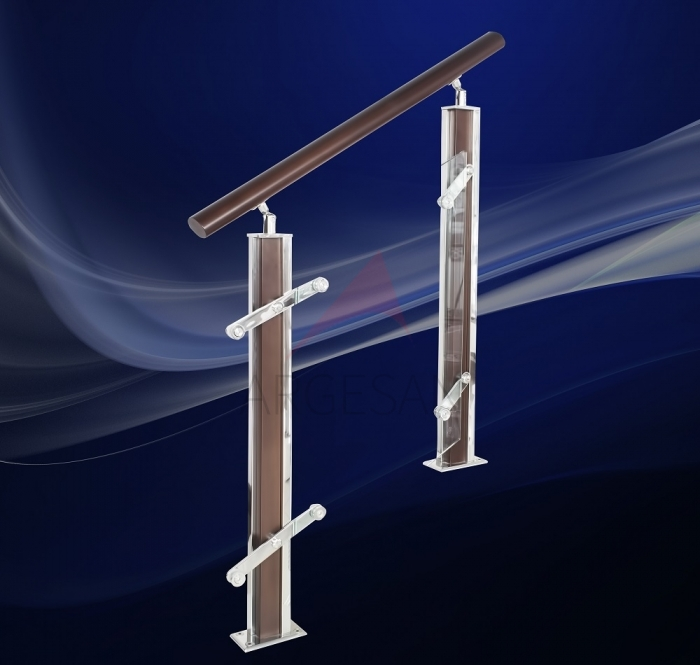 AHD-1 Wooden & Steel Baluster