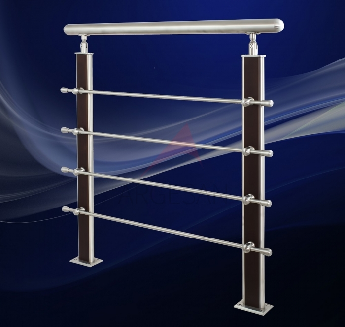 AHD-3 Wooden & Steel Baluster