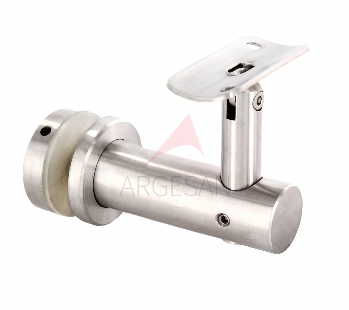 CTK-015 Handrail Support With Glass Holder