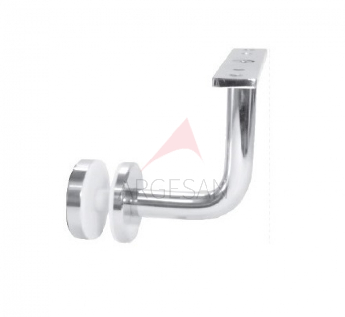 CTK-025 Handrail Support With Glass Holder