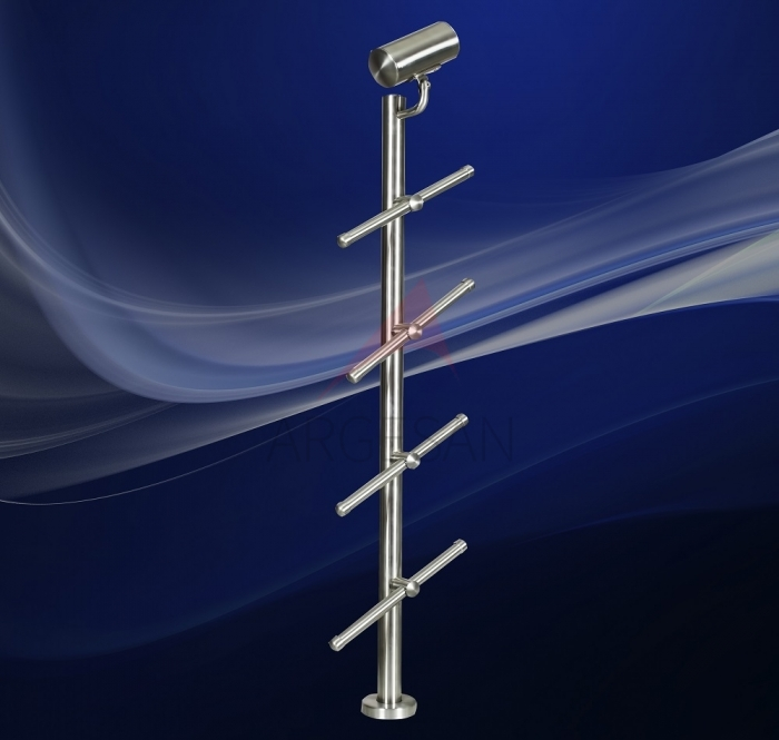 EHD-1 Baluster With Security Line