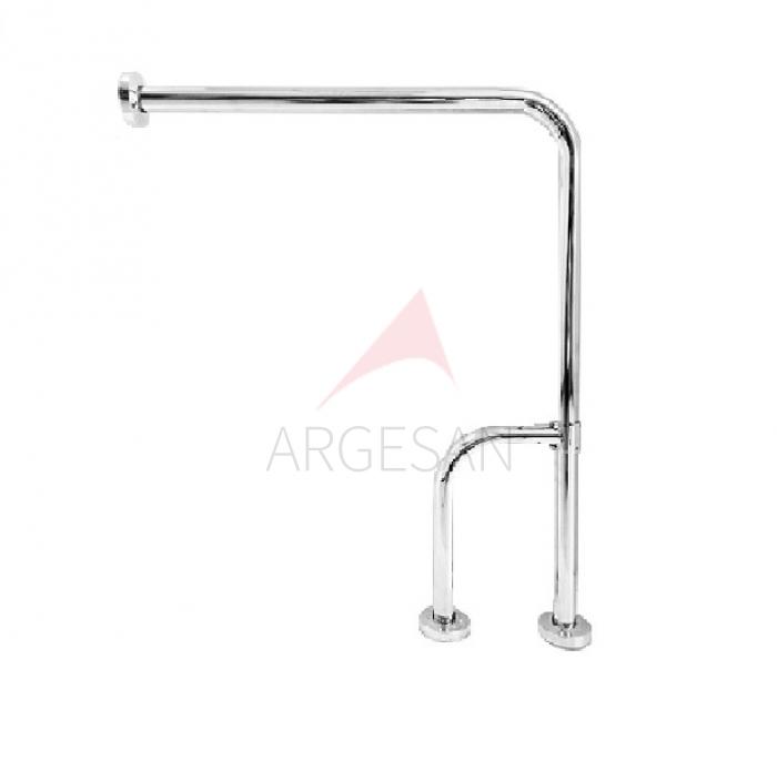 Disabled Toilet Grab Bar Fixed L3