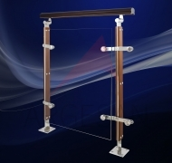 AHD-2 Wooden & Steel Baluster