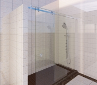 Shower Sliding Door System