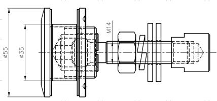 CR Döküm Rotil Teknik Çizim