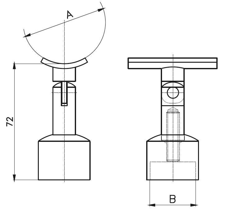 DM-1100 Dikme Mafsal Teknik Çizim