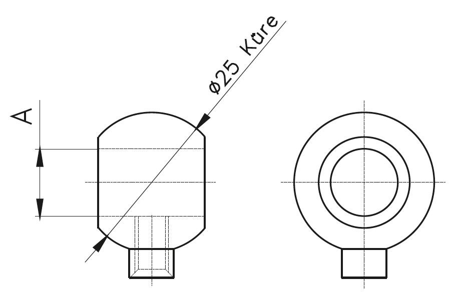 BY-400 KüreYüzük Teknik Çizim