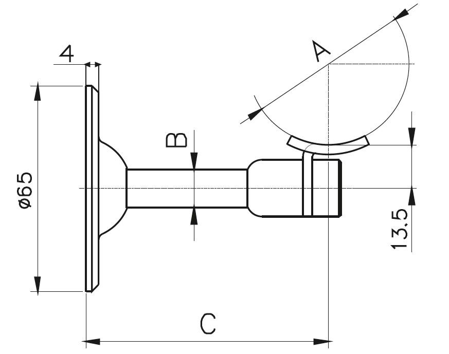 HRA-800 Dikme Kolçağı Teknik Çizim