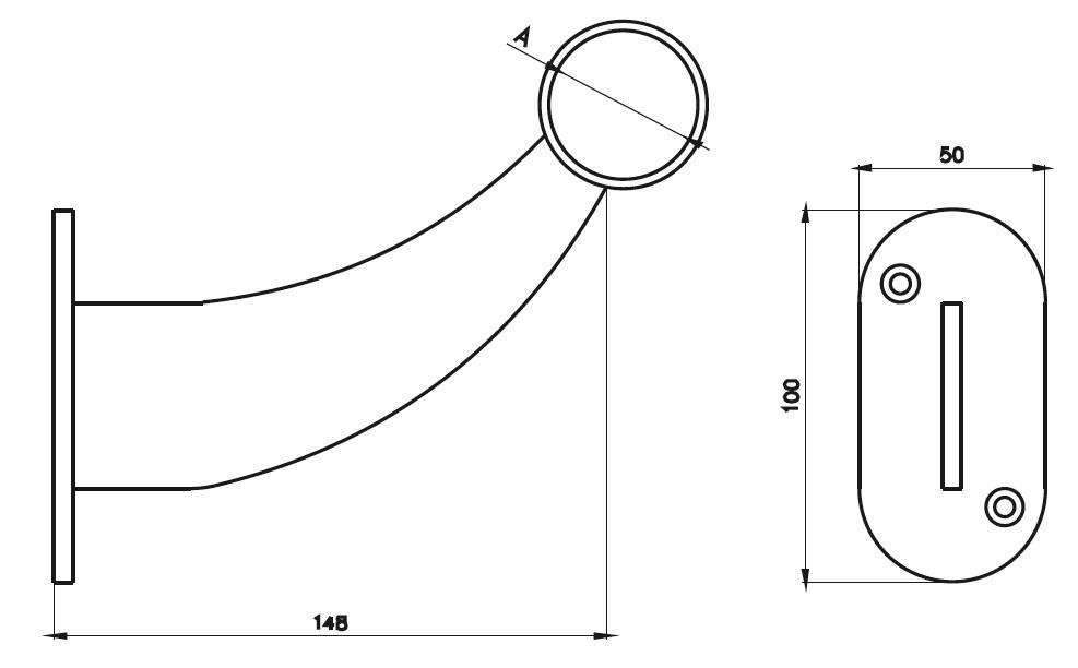 BT - Bar Tekmeliği Teknik Çizim
