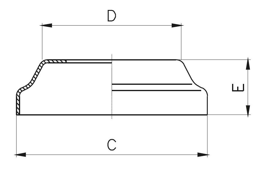 BPR - Rozet Teknik Çizim