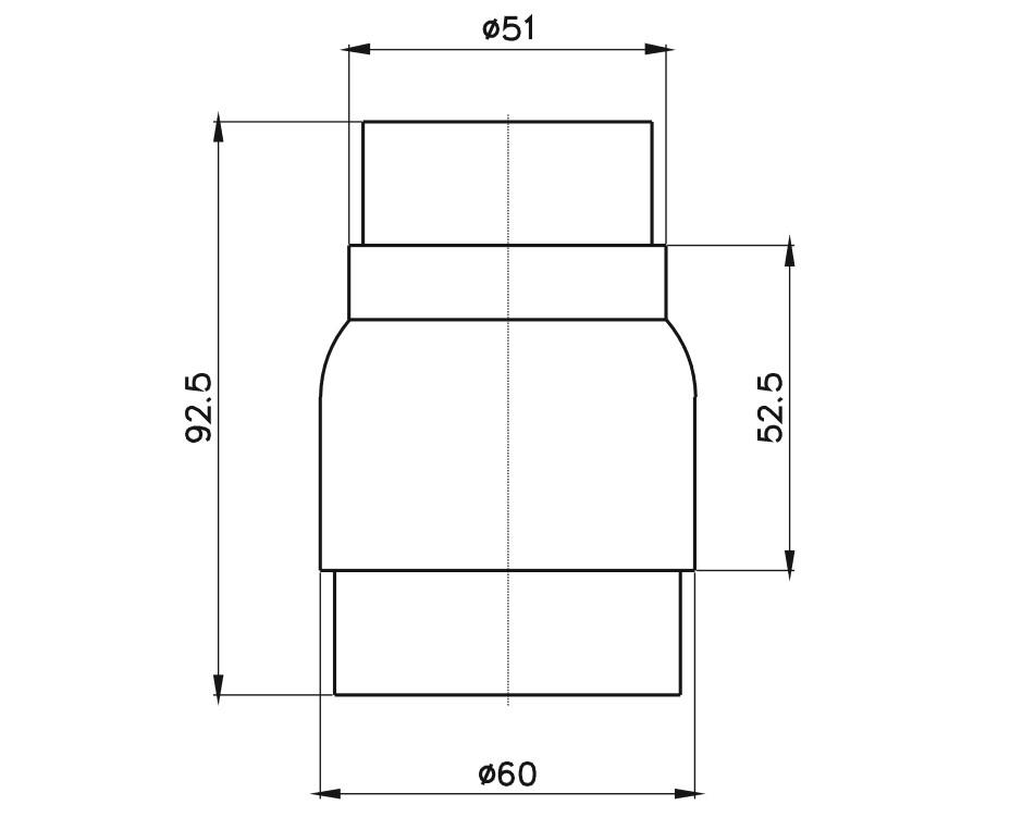 Rediksiyon-60x51 Teknik Çizim