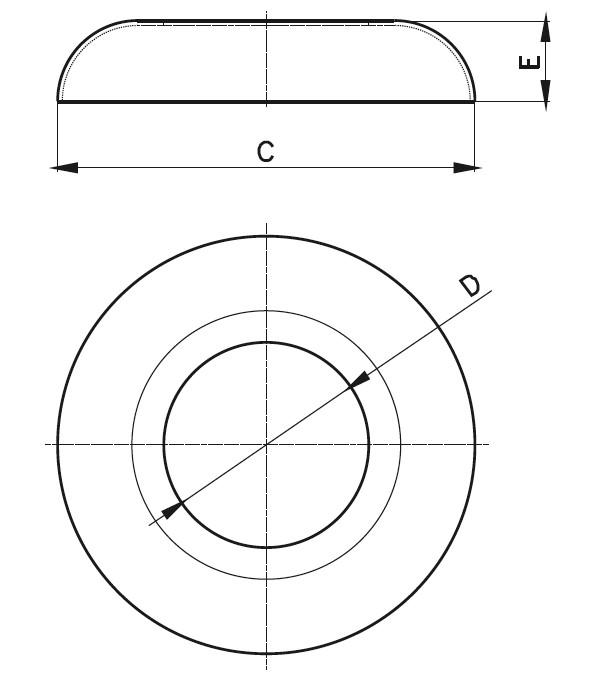 HPR - Rozet Teknik Çizim