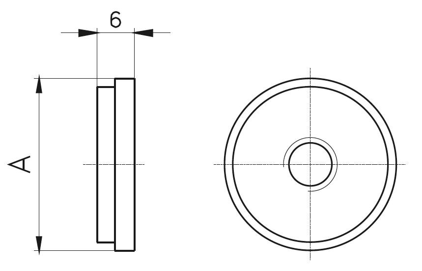 DTP - Dikme Taban Pulu Teknik Çizim
