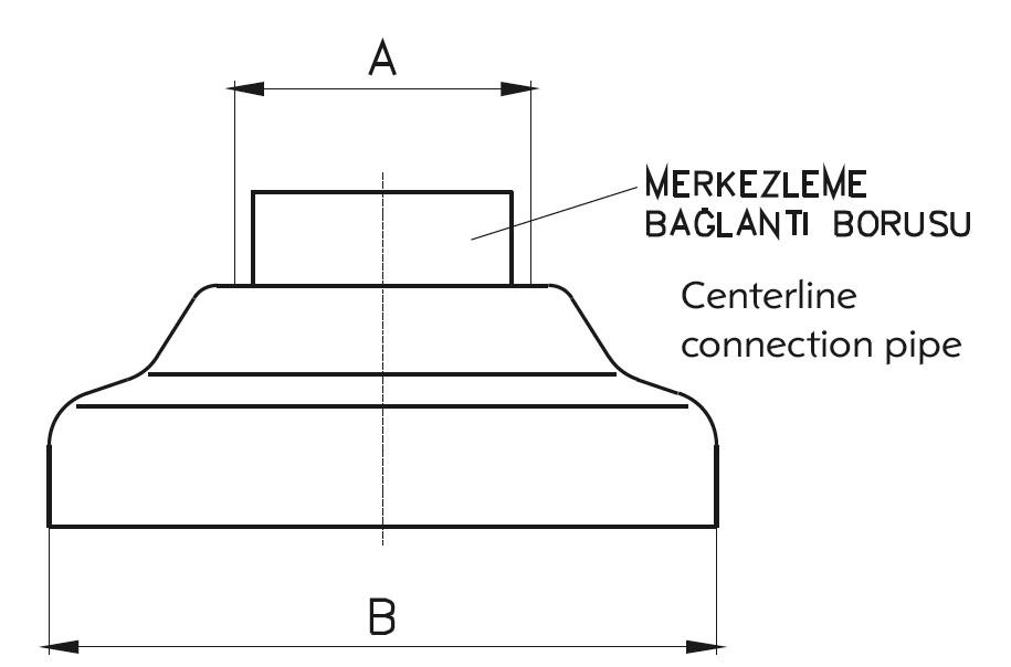 BB - Bitiş Bağlantısı Teknik Çizim