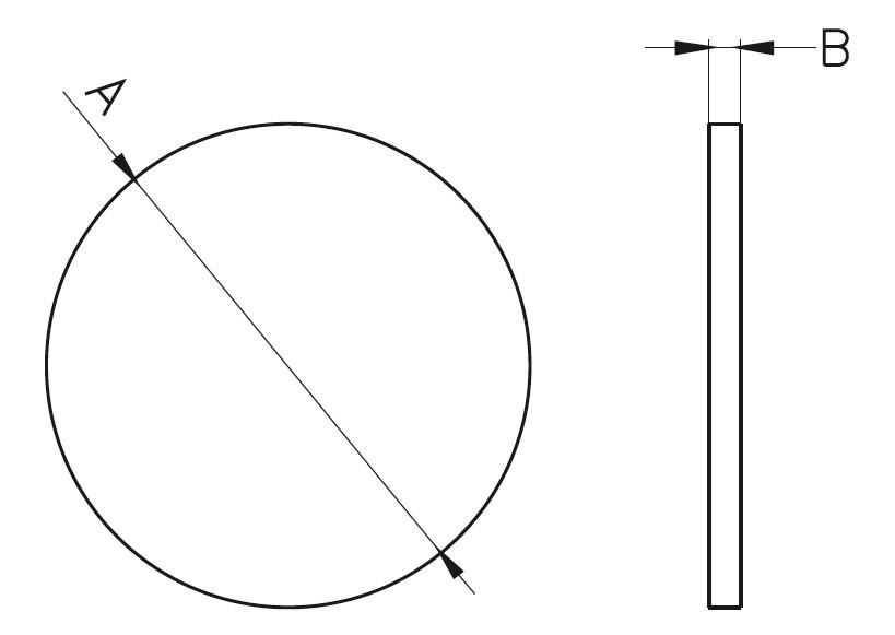 F0- Flanş Teknik Çizim