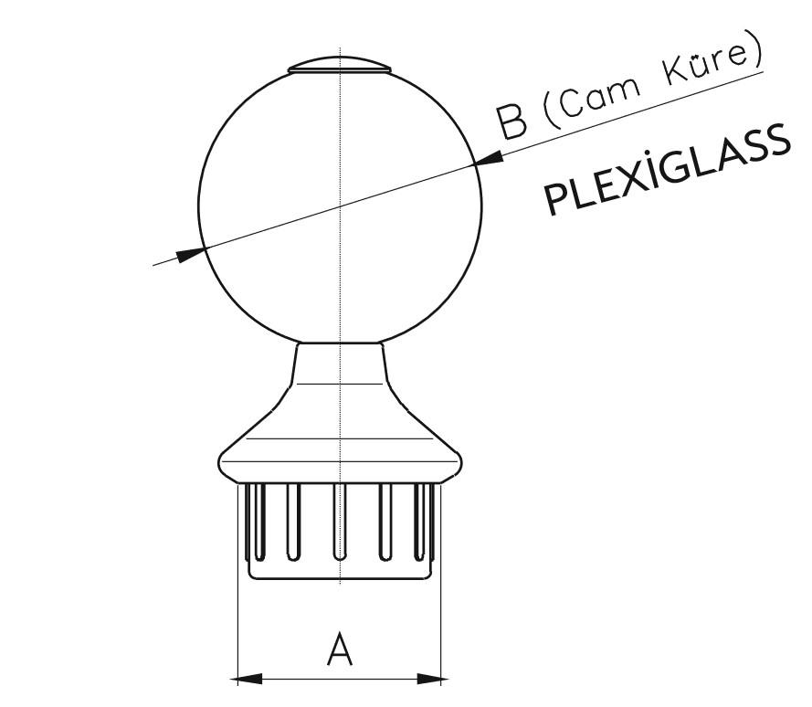PDB / Pleksi Dikem Babası Teknik Çizim