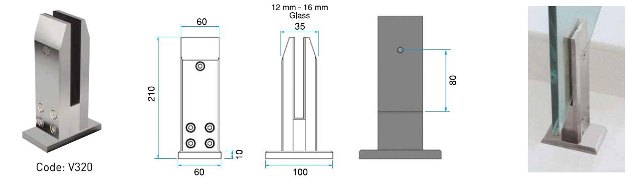 SPG-V320 Spigot Teknik Çizim