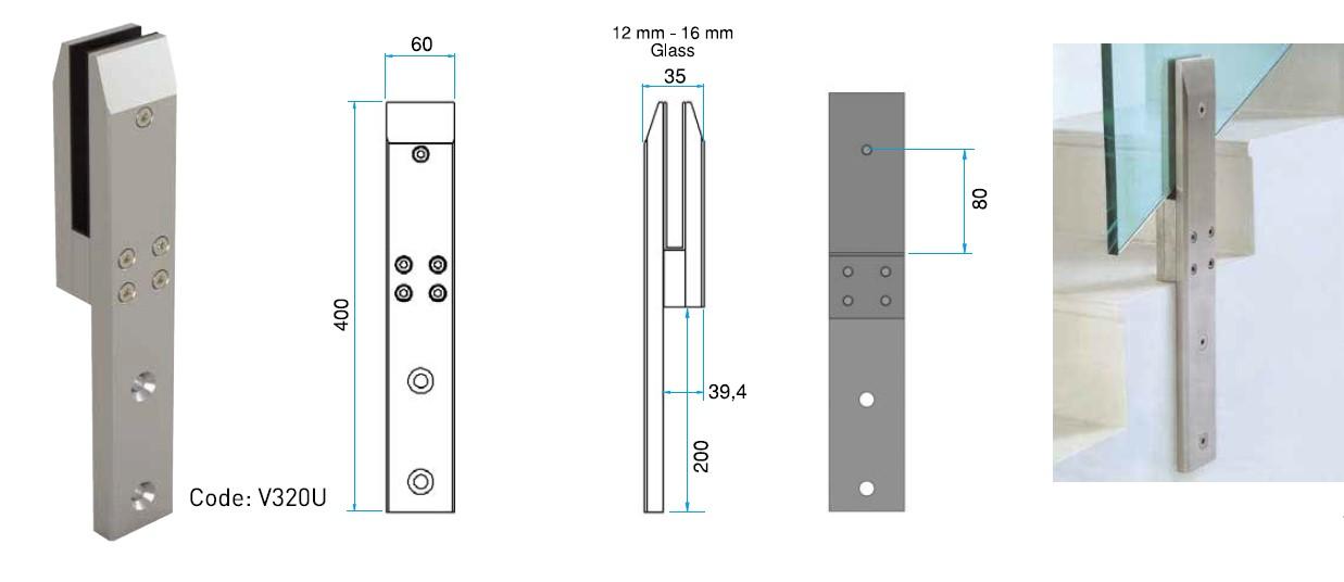 SPG-V320U Spigot Teknik Çizim
