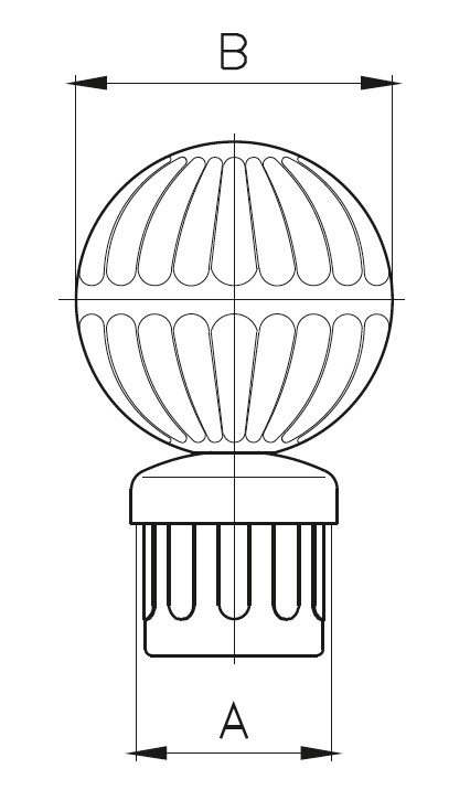 DDBG / Dekoratif Dikme Babası Teknik Çizim