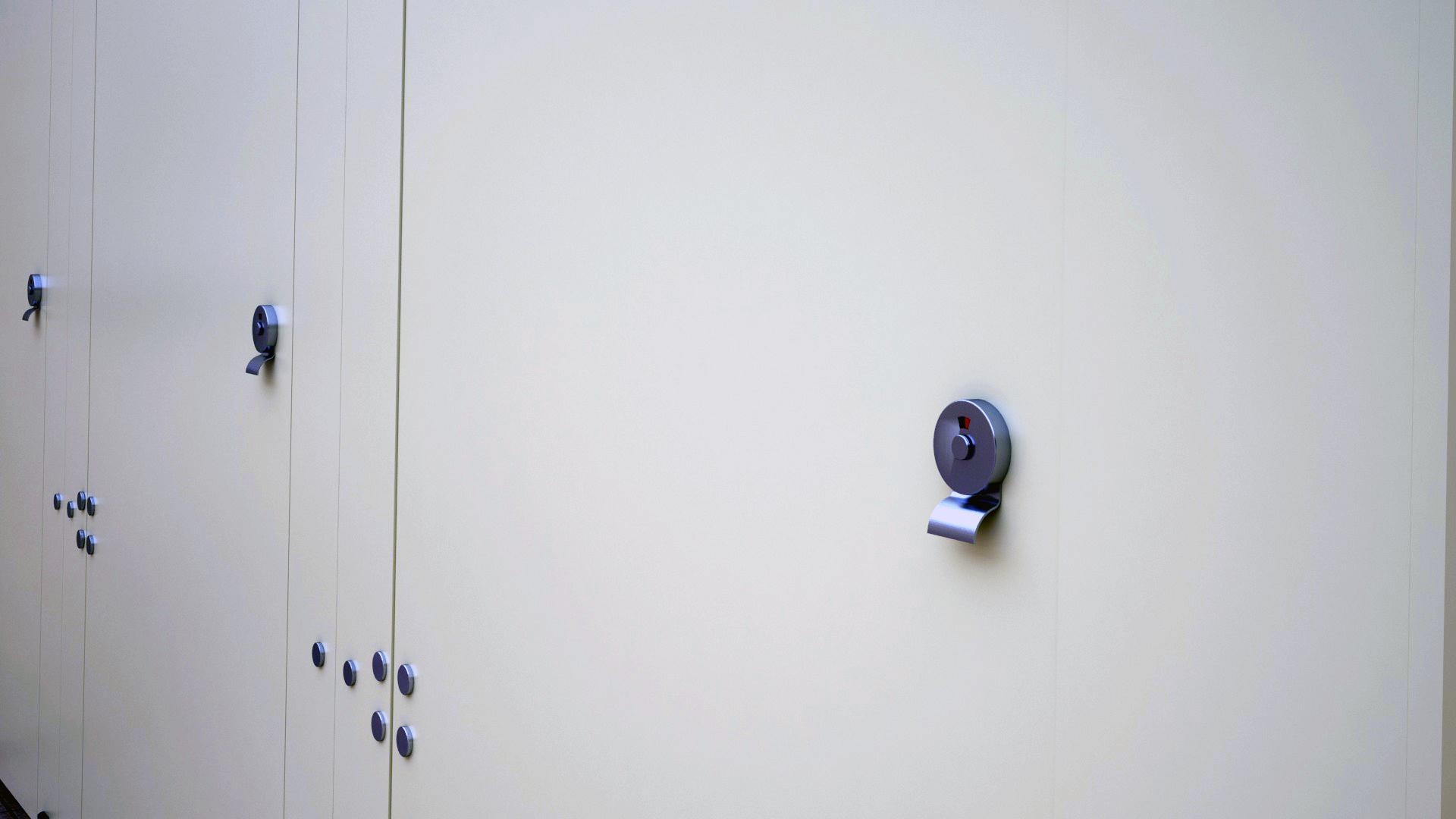 WC Kapı Kilidi 46700 Teknik Çizim